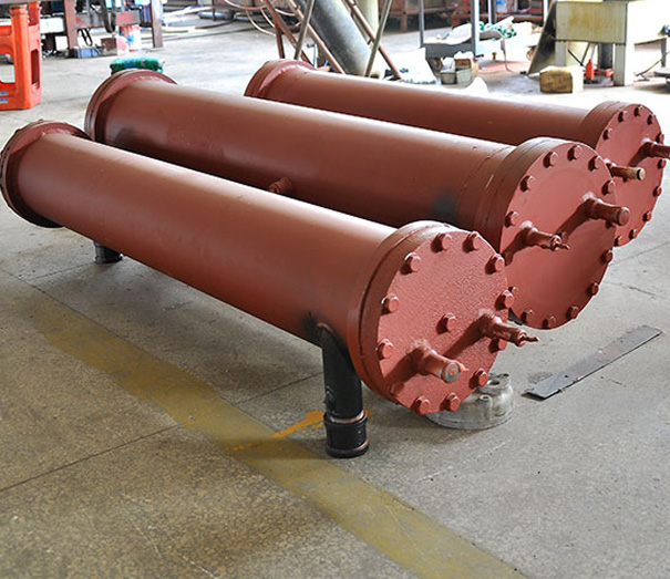 殼管式換熱器生產車間